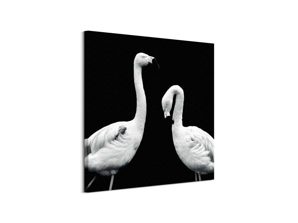 18349 vaszonkep rozsaszin flamingo evariste nicolas 85x85cm