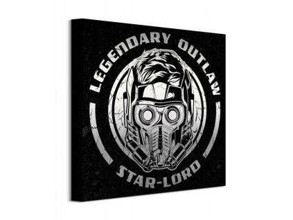 20512 vaszonkep guardians of the galaxy vol 2 legendary outlaw 40x40cm