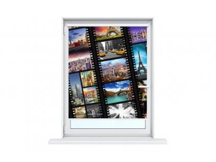 Nyomatos roletta Világvárosok filmen  HD nyomtatás