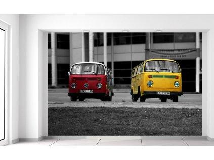 Fotótapéta Old Volkswagen Transporter 200x135cm  + Ajándék