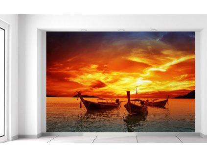 Fotótapéta Naplemente Thaiföldön 200x135cm  + Ajándék
