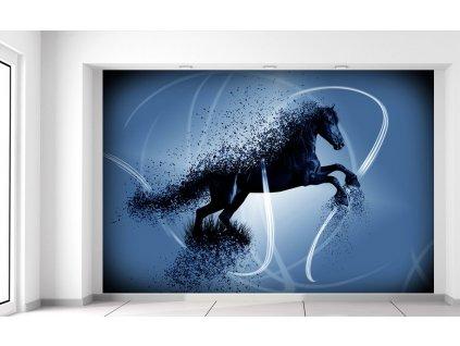 Fotótapéta Kék ló - Jakub Banas  + Ajándék