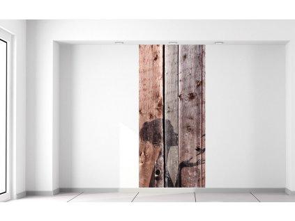 Fotótapéta Szerelem a fán  Extra súly és vastagság (180-212g/m2 és 100um)
