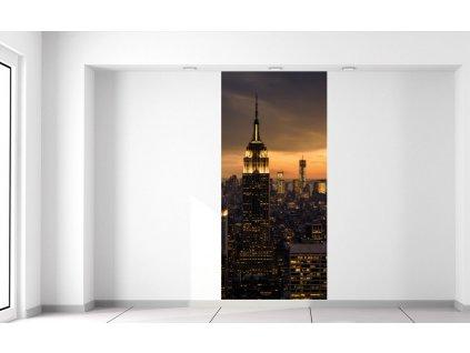 Fotótapéta New York naplementekor  + Ajándék