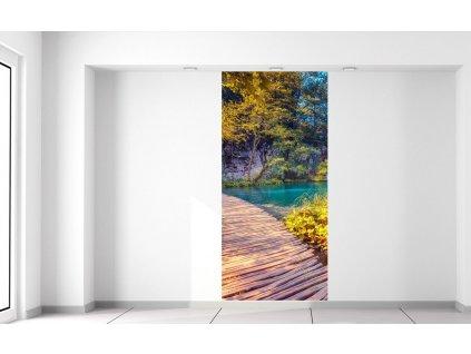 Fotótapéta Plitvicei tavak Horvátországban  + Ajándék