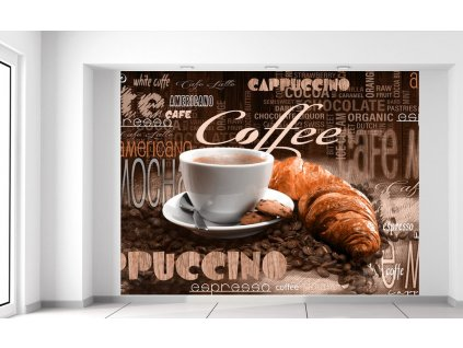 Fotótapéta Kiváló kávé  Extra súly és vastagság (180-212g/m2 és 100um)