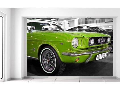 Fotótapéta Lime veterán Mustang  + Ajándék