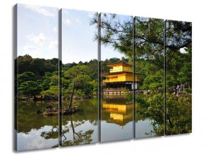 Vászonkép Aranyház Japánban - Mith Huang  + Ajándék