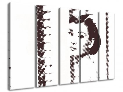 Vászonkép Hepburn Audrey  + Ajándék