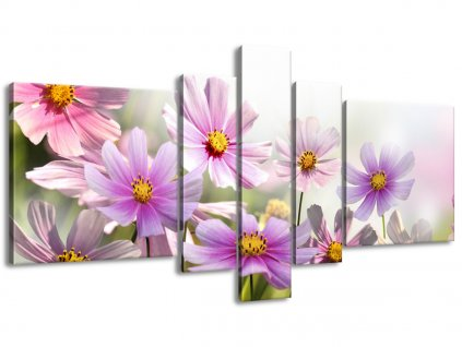 Vászonkép Gyengéd virágok 160x80cm  HD nyomtatás