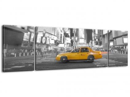 Vászonkép Taxi in New York 170x50cm  HD nyomtatás