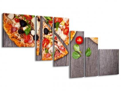 Vászonkép Pizza 220x100cm  + Ajándék