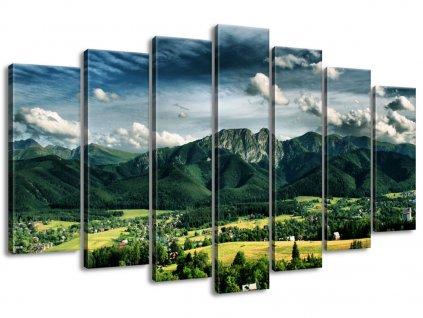 Vászonkép Napsütéses nap a völgyben 140x80cm  + Ajándék