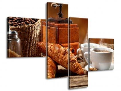 Vászonkép Kávé 100x70cm  HD nyomtatás