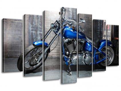 Vászonkép Fényes motorkerékpár 140x80cm  + Ajándék