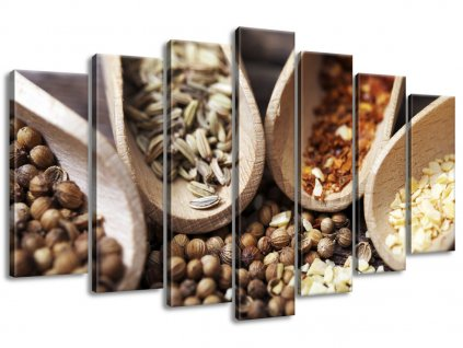 Vászonkép Fűszer az ízletes ételekbe 140x80cm  + Ajándék