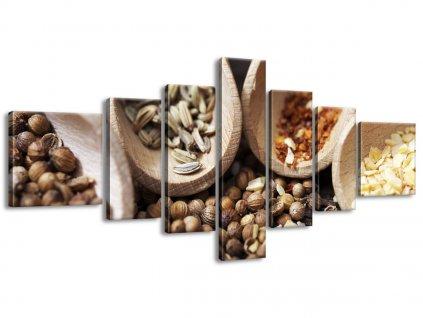Vászonkép Fűszer az ízletes ételekbe 160x70cm  + Ajándék