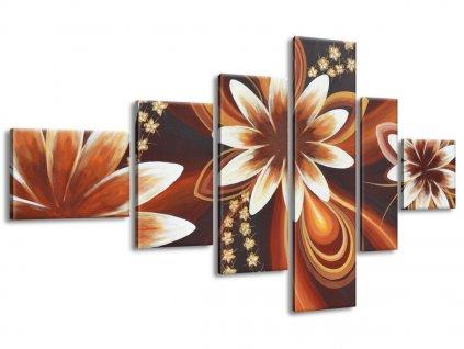 Vászonkép Titokzatos virágok 180x100cm  + Ajándék