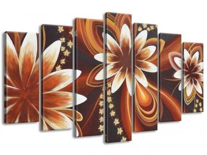 Vászonkép Titokzatos virágok 140x80cm  + Ajándék