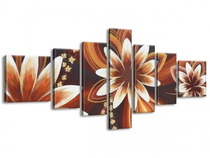 Vászonkép Titokzatos virágok 160x70cm  + Ajándék