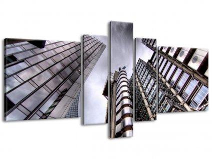 Vászonkép Londoni felhőkarcolók 160x80cm  HD nyomtatás