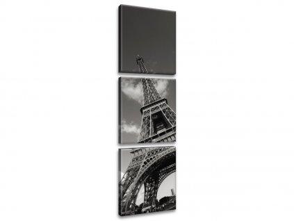 Vászonkép Párizs és az Eiffel-torony 30x90cm  + Ajándék