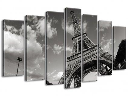 Vászonkép Párizs és az Eiffel-torony 140x80cm  + Ajándék