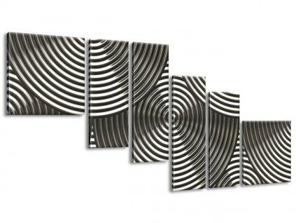 Vászonkép Ezüst karikák 220x100cm  + Ajándék