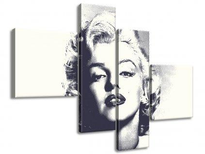 Vászonkép Marilyn Monroe 100x70cm  + Ajándék