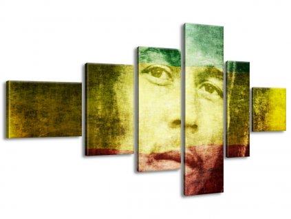 Vászonkép Legendás Bob Marley 180x100cm  + Ajándék