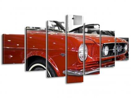Vászonkép Mustang veterán 140x80cm  + Ajándék