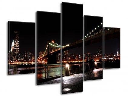 Vászonkép Brooklyn Bridge - Mith 160x80cm  + Ajándék