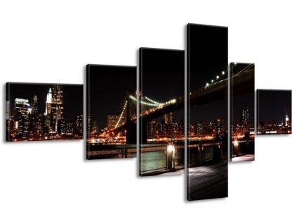 Vászonkép Brooklyn Bridge - Mith 180x100cm  + Ajándék