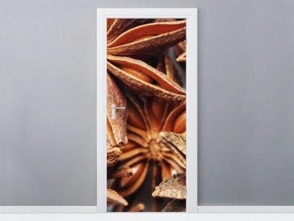 Öntapadó ajtómatrica Ánizs 95x205cm  + Ajándék