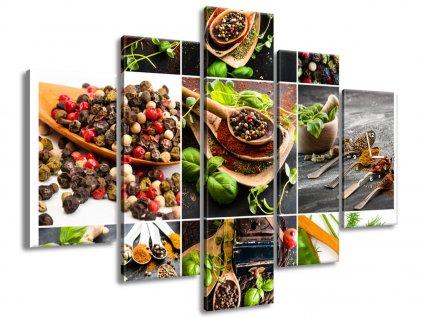 Órás falikép Legízletesebb világfűszerek 150x105cm  + Ajándék