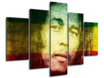 Órás falikép Legendás Bob Marley 150x105cm  + Ajándék