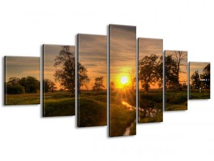 Órás falikép Pihenés a patak felett 210x100cm  + Ajándék
