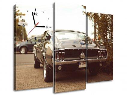Órás falikép Ford Mustang - 55laney69 90x70cm  HD nyomtatás