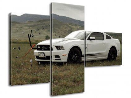 Órás falikép Mustang GT V8 - Brett Levin 80x40cm  + Ajándék