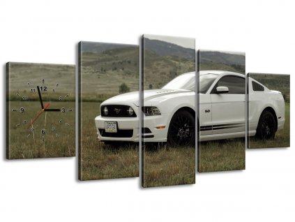 Órás falikép Mustang GT V8 - Brett Levin 150x70cm  + Ajándék