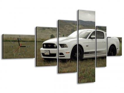 Órás falikép Mustang GT V8 - Brett Levin 180x100cm  + Ajándék