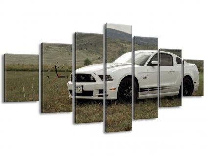 Órás falikép Mustang GT V8 - Brett Levin 210x100cm  + Ajándék