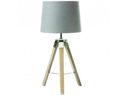 Asztali lámpa, szürke, JADE TYP 2 8008-17B  + Ajándék