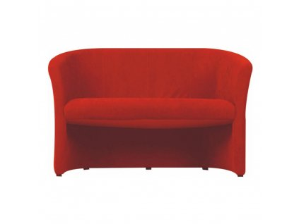Klub dupla fotel, szövet piros, CUBA  + Ajándék