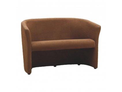 Klub dupla fotel, barna, CUBA  + Ajándék