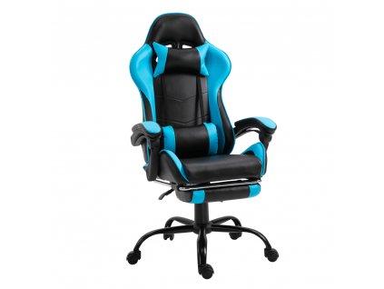 Irodai/gamer fotel lábtartóval TARUN  + Ajándék