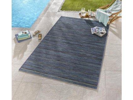 Kültéri szőnyeg Lotus Blau Meliert 102444  + Ajándék