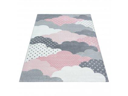 Gyerek szőnyeg Bambi 820 pink  + Ajándék