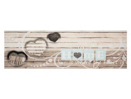 Futószőnyeg Cook & Clean 103830 Cream Grey