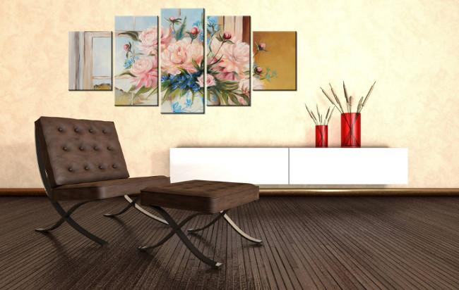 Malovane_obrazy_kvetov